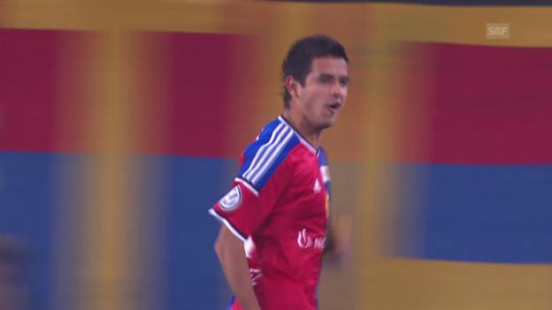 Video «Fussball: Super League, Überflieger Derlis Gonzalez» abspielen