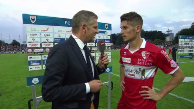 Video «SL: Dario Vidosic im Interview» abspielen