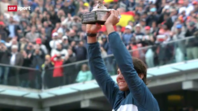 Nadal gewinnt French Open 2013