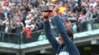 Video «Nadal gewinnt French Open 2013» abspielen