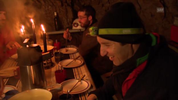 Video «Urs Wiedmer erklärt das Dombiwak» abspielen