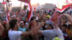 Video «Explosive Lage in Ägypten» abspielen