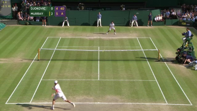 Highlights Wimbledon-Final Murray-Djokovic