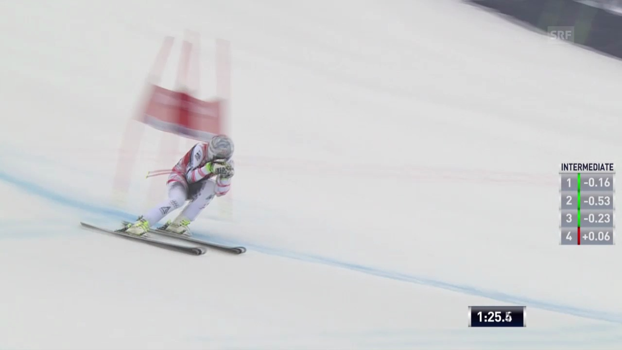 Ski: Weltcup, Super-G Kvitfjell, Fahrt Mayer («sportlive», 02.03.14)