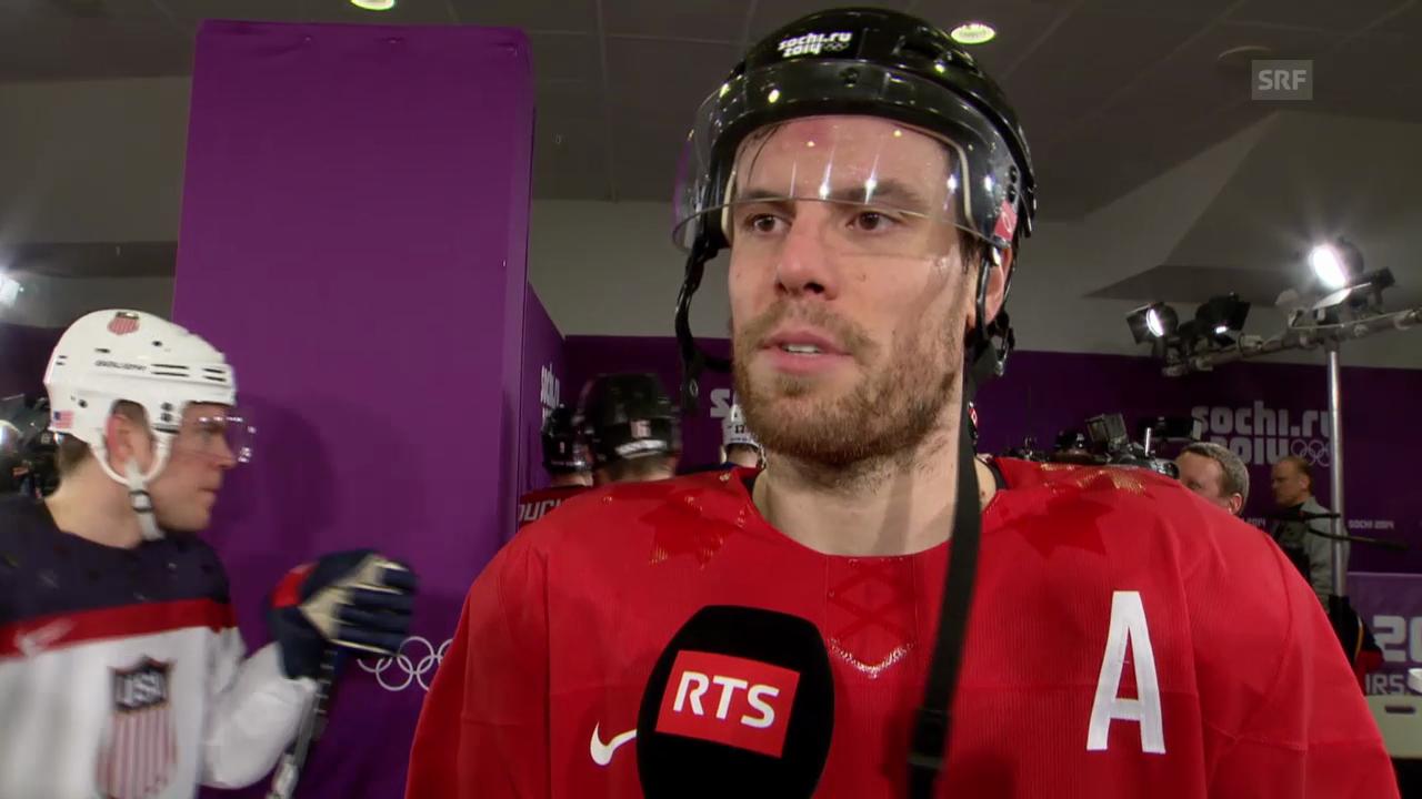 Eishockey: Interview mit Shea Weber (sotschi direkt, 21.02.2014)