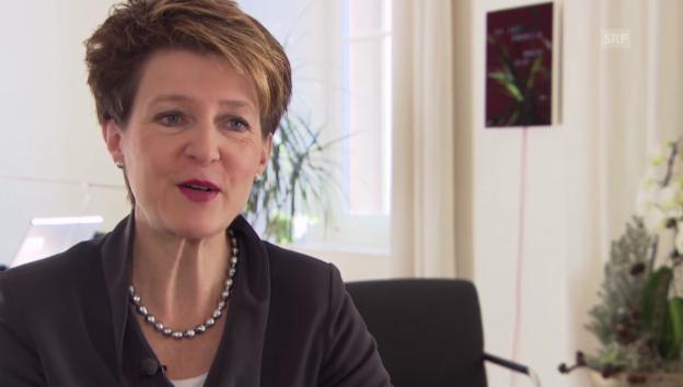 Video «Sommaruga über ihr kommendes Präsidialjahr.» abspielen