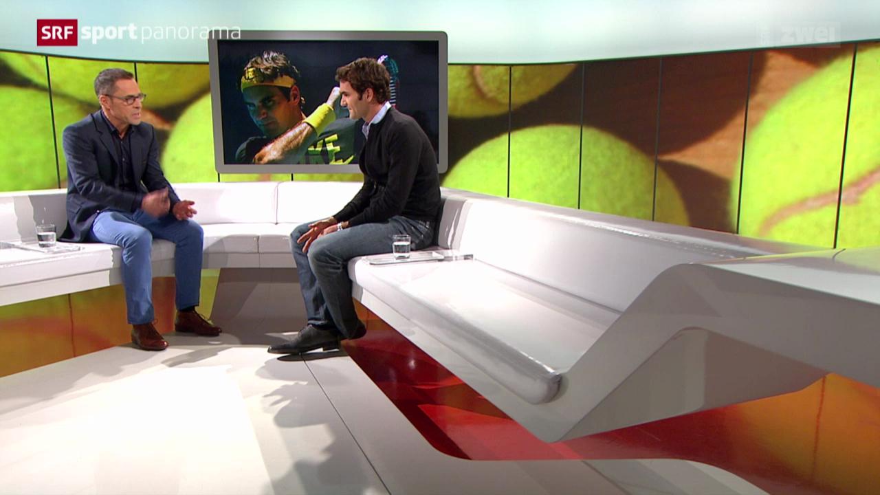 Tennis: Studiogast Roger Federer, Teil 3