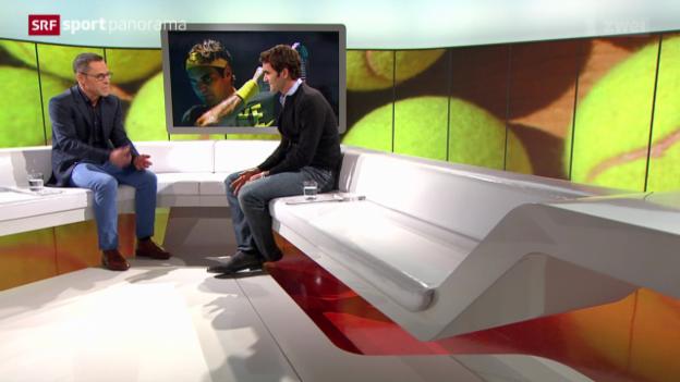 Video «Tennis: Studiogast Roger Federer, Teil 3» abspielen