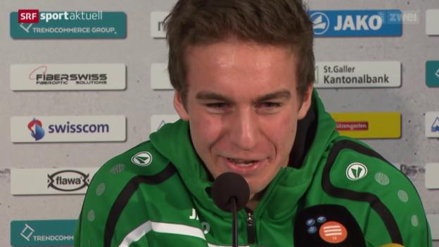 Video «St. Gallen stellt Gianluca Gaudino vor» abspielen