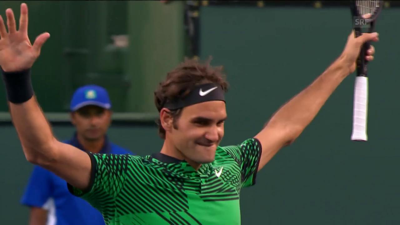 Federer zeigt gegen Nadal eine Galavorstellung