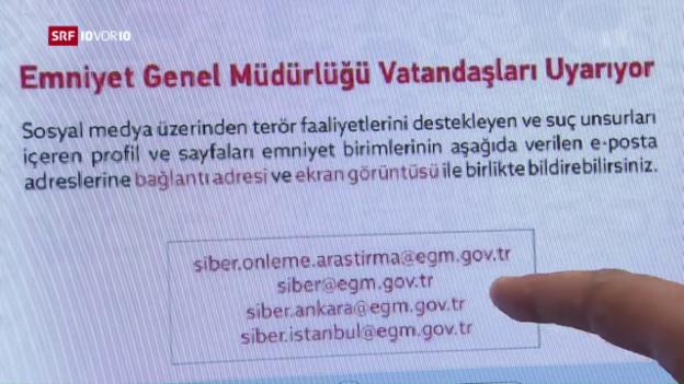 Video «Türkische Gülen-Anhänger werden in der Schweiz denunziert» abspielen