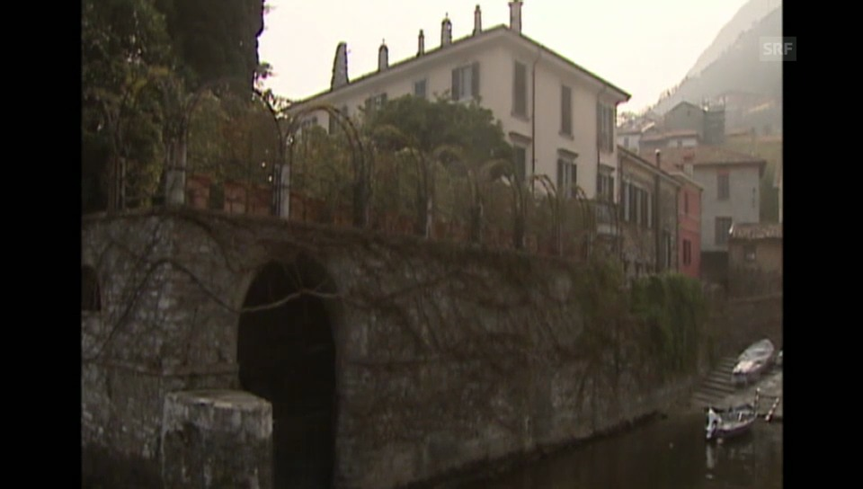 George Clooneys Villa in Como