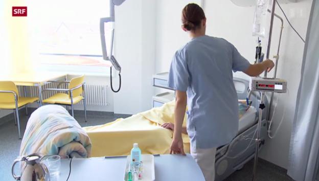 Video «Massnahmenpaket zur Bekämpfung von tödlichen Spitalkeimen» abspielen