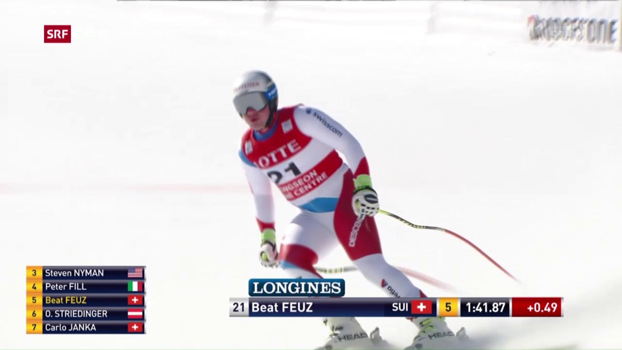 Feuz' olympischer Optimismus