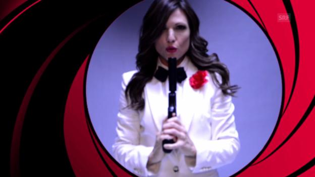 Video «Viola «James Bond» Fotoshooting Making-of» abspielen