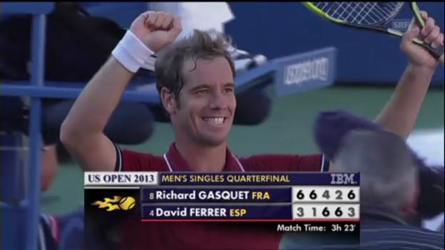 Video «Matchball Gasquet - Ferrer (unkommentiert)» abspielen
