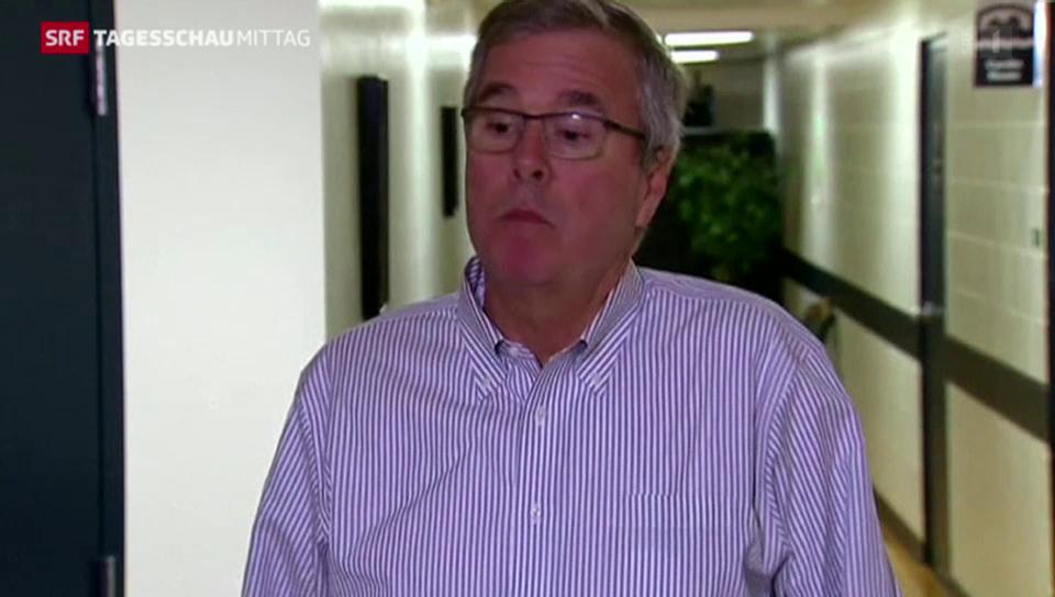 Hat sich Jeb Bush da verplappert?