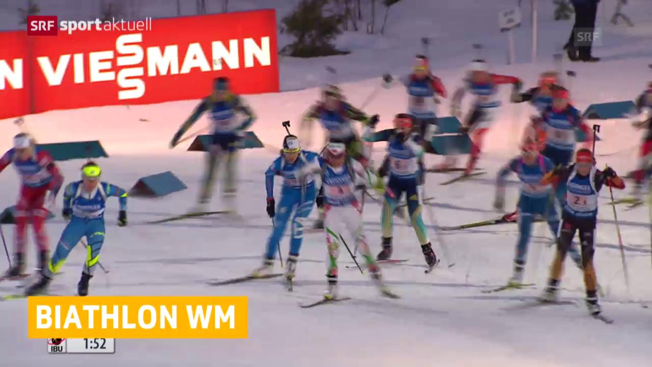 Biathlon: Schweizer Frauen-Staffel enttäuscht