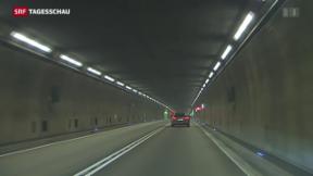 Video «Zweite Gotthard-Röhre kaum gefährdet» abspielen