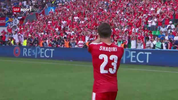 Video «Die Schweiz scheitert an Polen» abspielen