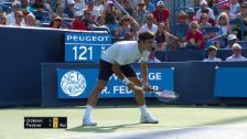 Link öffnet eine Lightbox. Video Federer kann Djokovic nicht fordern abspielen