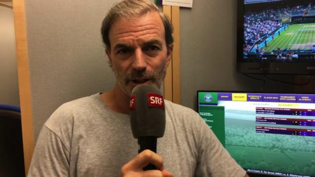 Video «Günthardt: «Dachte, dass Federer nicht nur einmal gewinnen wird»» abspielen