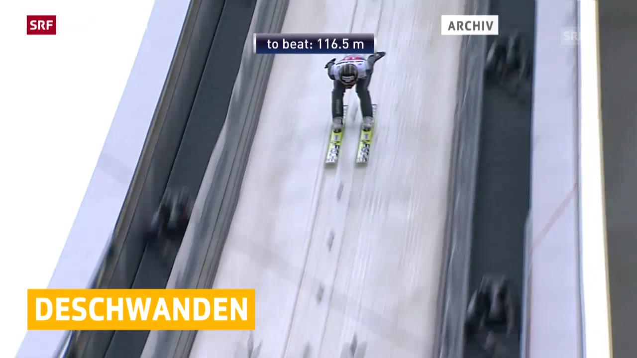 Skispringen: Weltcup Willingen, Deschwanden übersteht Quali