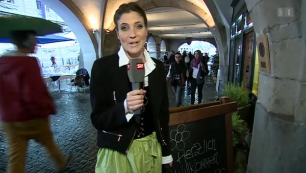 Video «Mission Sechseläuten: Annina Frey bei den Zünftern» abspielen