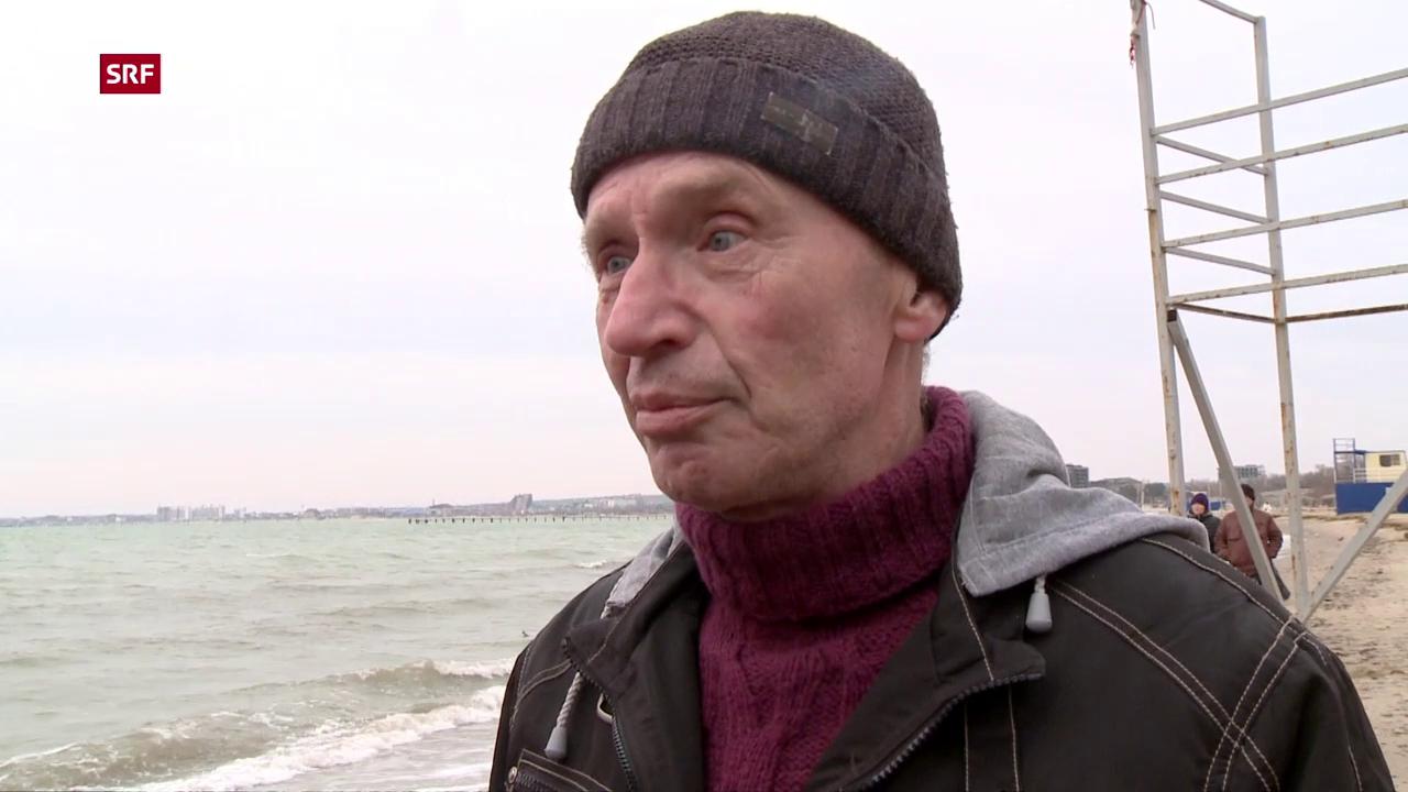 Wladimir Ugljow erhält die Nachricht vom Giftanschlag