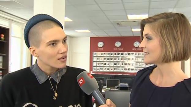 Video «Tamy Glauser im Interview mit Annina Frey» abspielen
