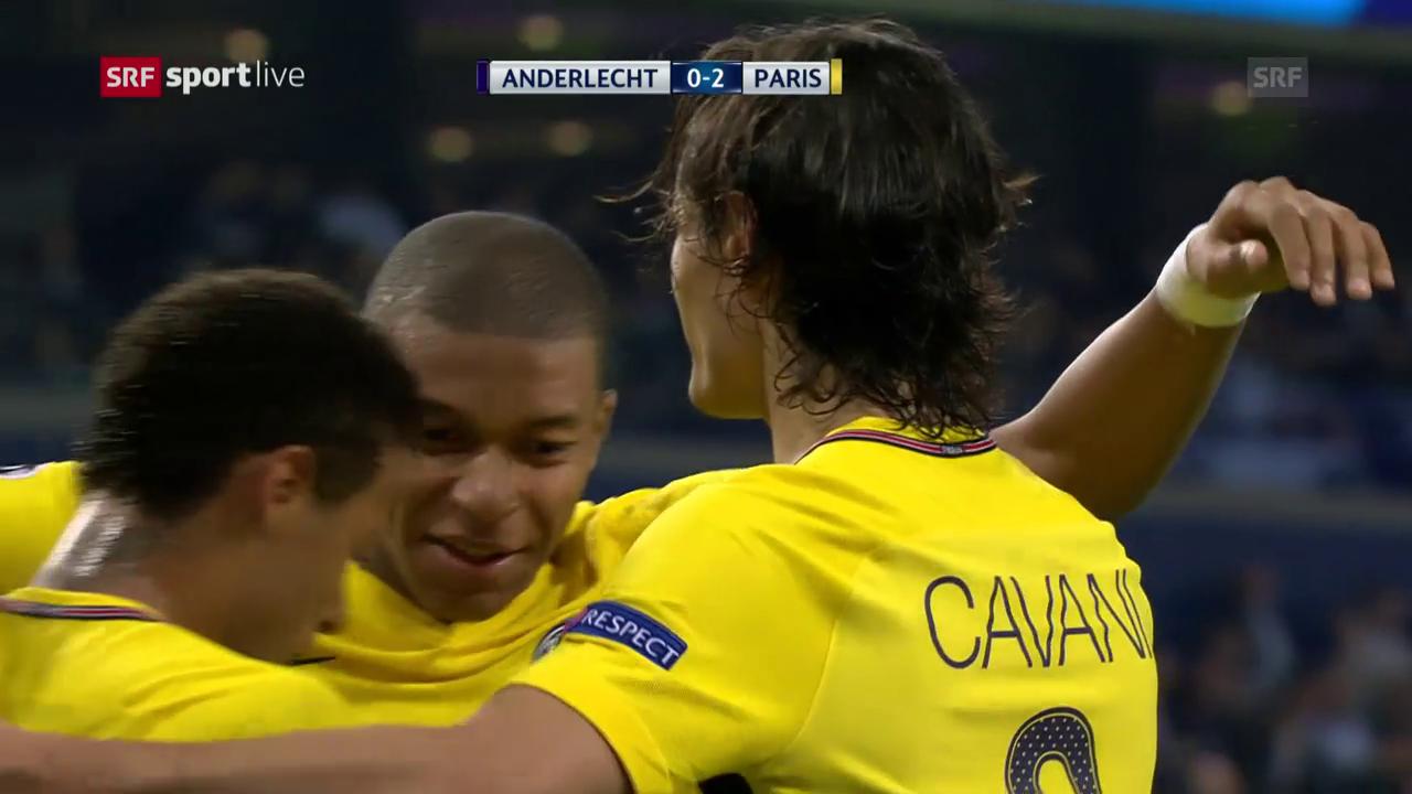 Lockerer Sieg für Paris SG in Anderlecht