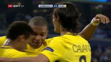 Link öffnet eine Lightbox. Video Lockerer Sieg für Paris SG in Anderlecht abspielen