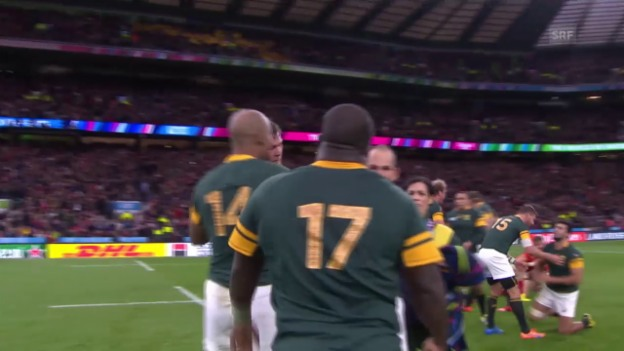 Video «Rugby: WM 2015, Südafrika - Wales» abspielen