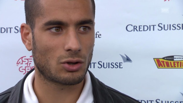 Video «Interview mit Eren Derdiyok» abspielen