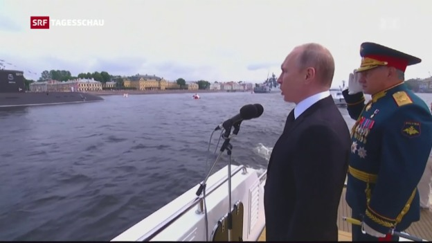 Video «Russland weist 755 US-Diplomaten aus» abspielen