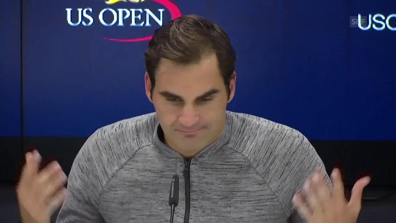 Auszüge aus Federers Medienkonferenz (engl.)