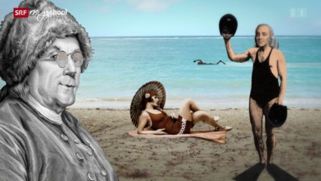 Link öffnet eine Lightbox. Video Science Gossip: Benjamin Franklin (9/13) abspielen