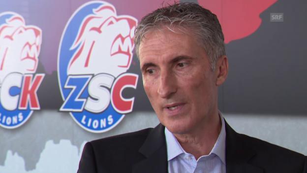 Video «ZSC CEO Peter Zahner äussert sich zur Trennung von Marc Crawford» abspielen