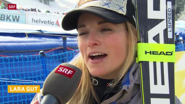 Video «Das Duell Gut vs. Rebensburg um die grosse Kristallkugel» abspielen
