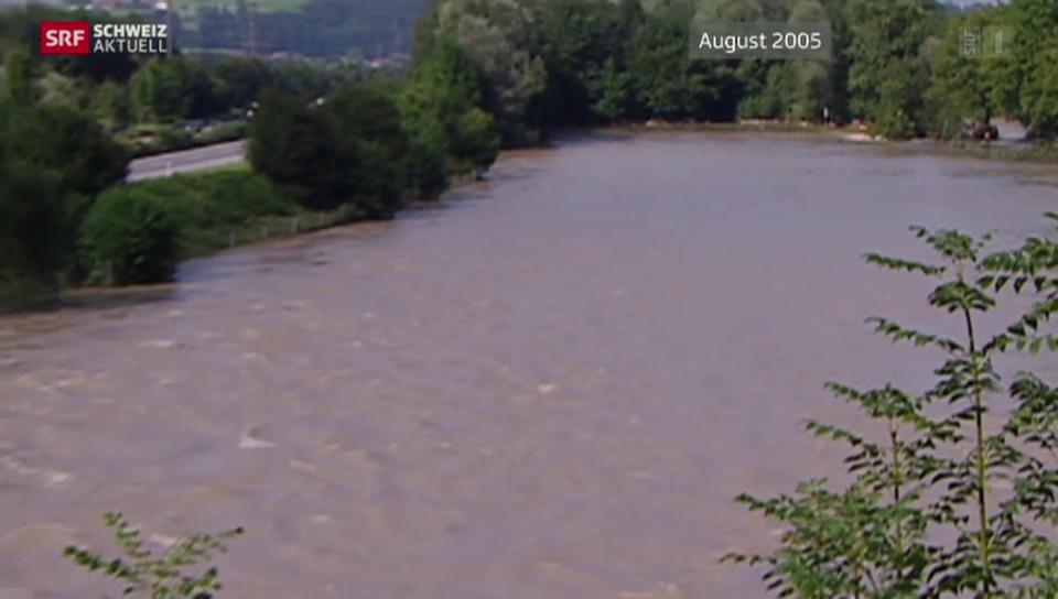 Hochwasserschutz entlang der Reuss