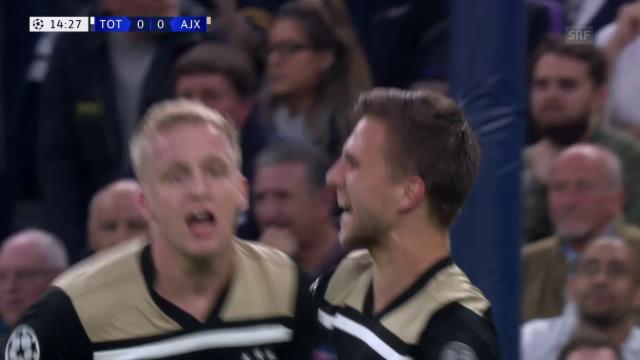 Tottenham steht im Champions-League-Final