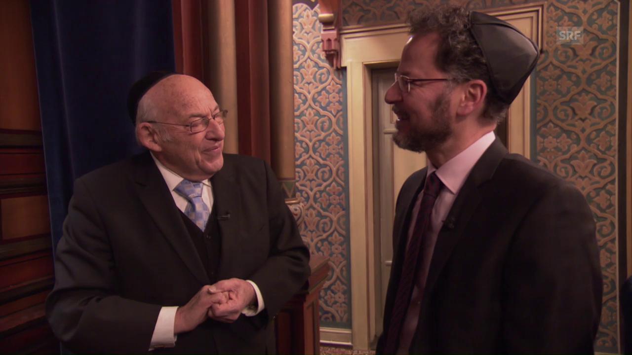 Tovia Ben-Chorin im Gespräch mit Norbert Bischofberger