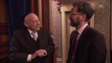 Video «Tovia Ben-Chorin im Gespräch mit Norbert Bischofberger» abspielen