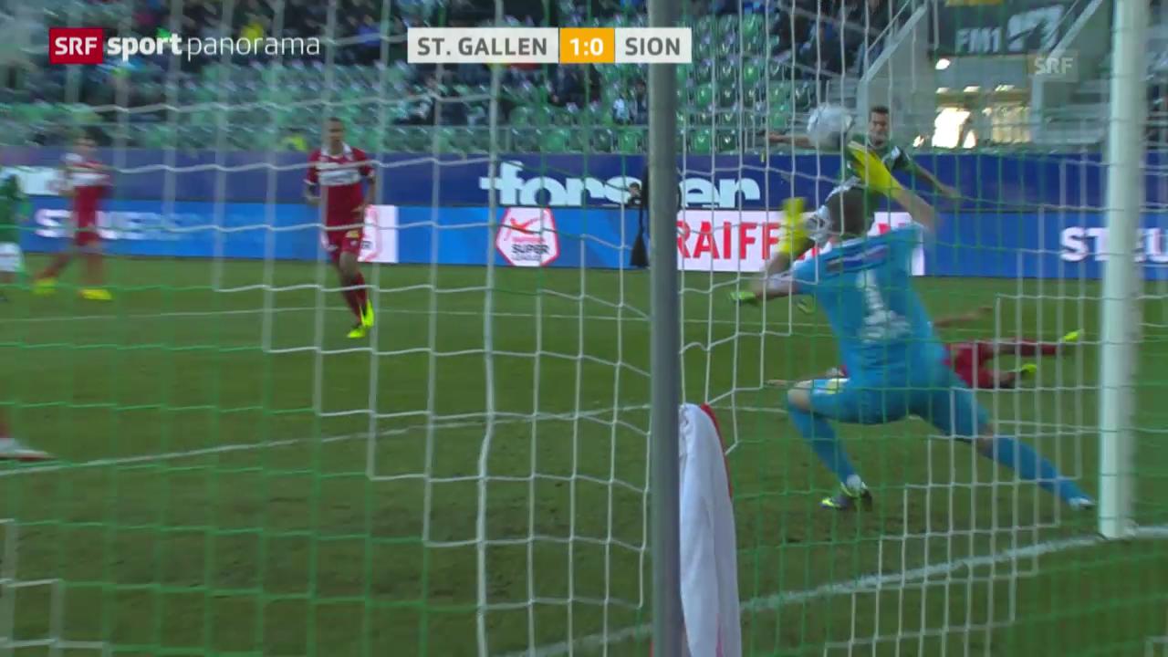 Spielbericht St.Gallen - Sion («sportpanorama»)
