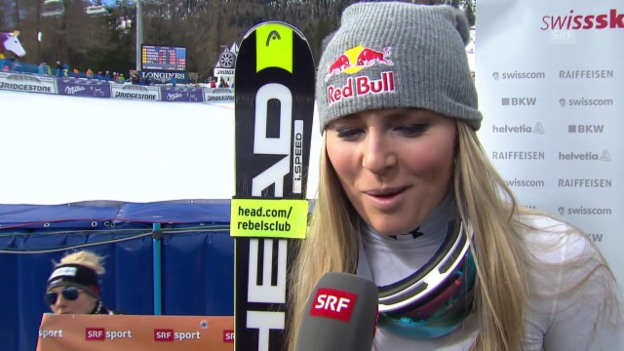 Video «Interview Lindsey Vonn» abspielen