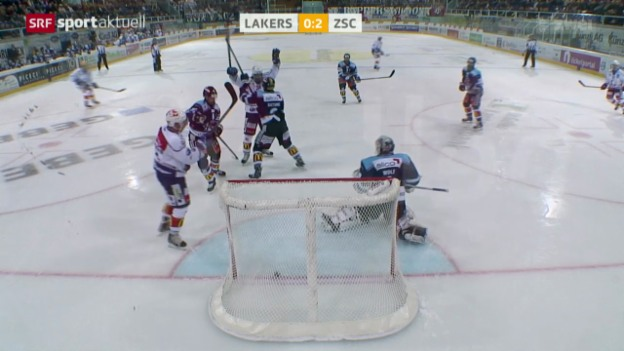 Video «Eishockey: NLA, Lakers - ZSC Lions» abspielen