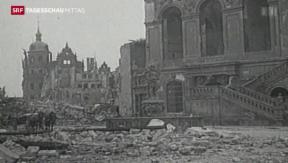 Video «Luftangriff Dresden 70 Jahre her» abspielen