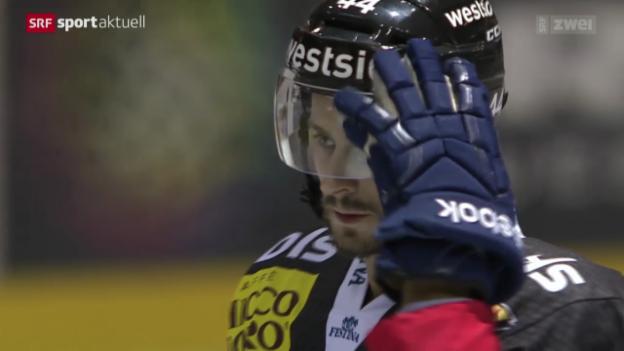 Video «Eishockey: Bern - Rapperswil-Jona Lakers» abspielen