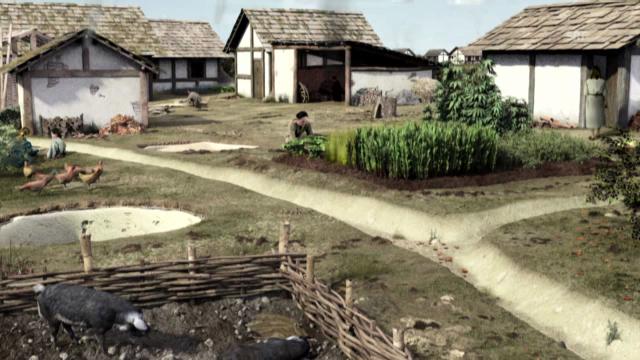 Wo und wie die Kelten lebten