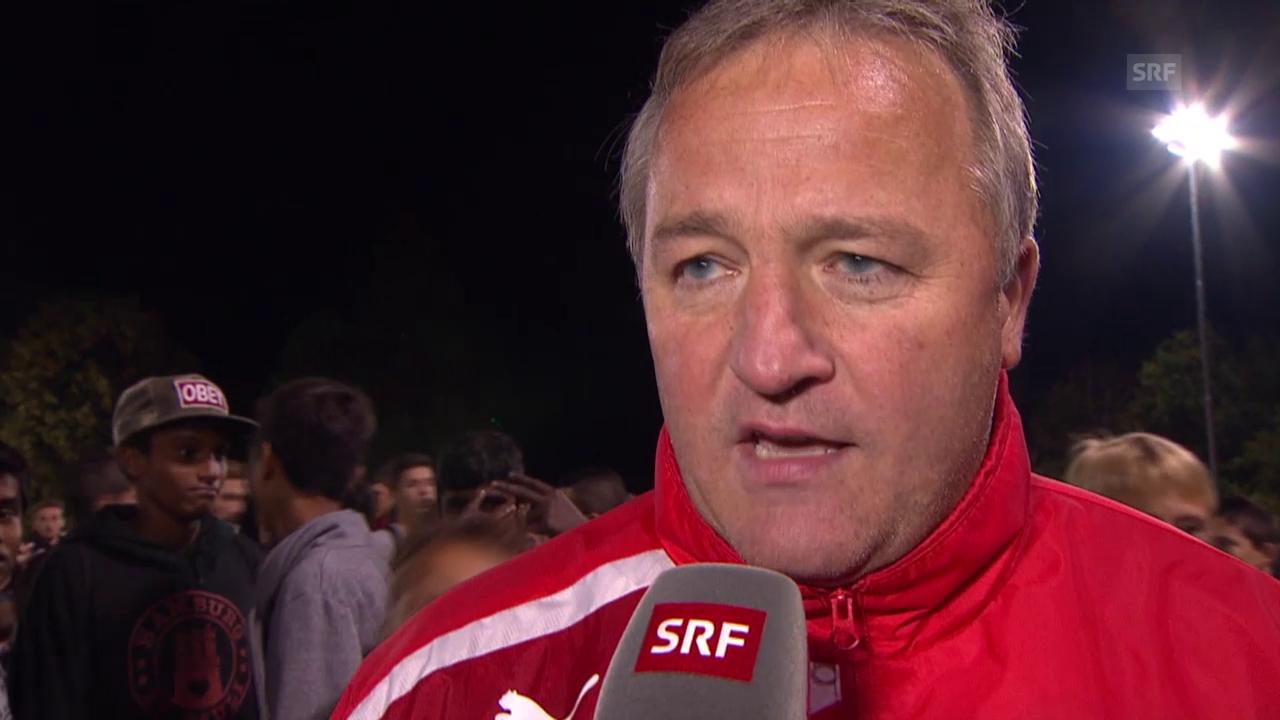 Fussball: Schweizer Cup, Bernhard Pulver im Interview